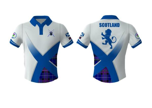 Scotland Sports Polo Shirt - can be personalised
