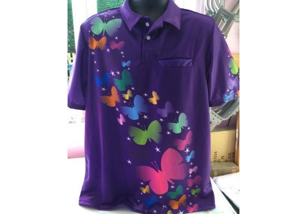 Butterfly Shirt with pocket