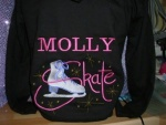 Ice Skating Hoodie - Personalised - All sizes