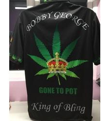 "Bobby George""Gone To Pot"" Replica shirt"