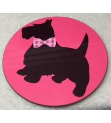 Scotty Dog Coaster